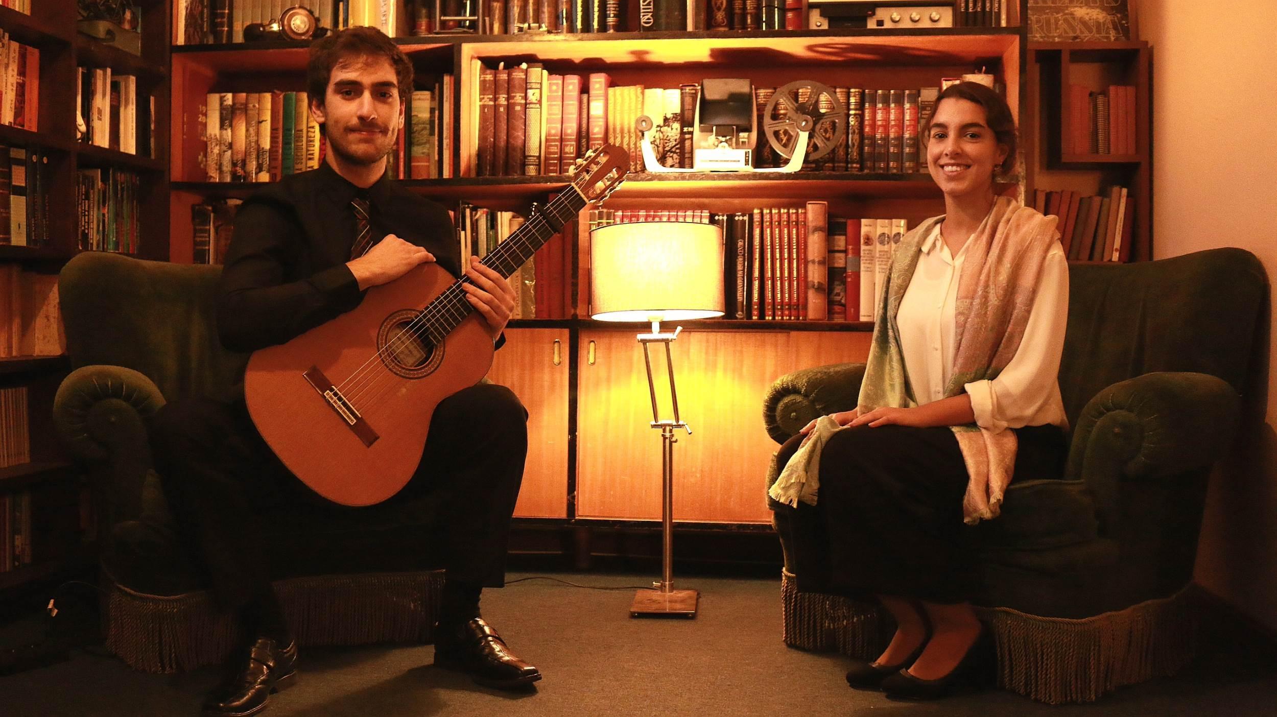 Duo Rubrum - Voz e Guitarra Clássica